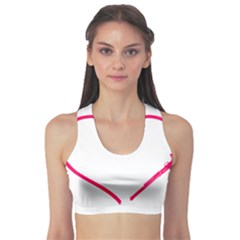 Customizable Shotgun Heart Sports Bra
