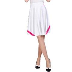 Customizable Shotgun Heart A Line Skirts