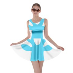 Party Deer With Bunting Skater Dresses