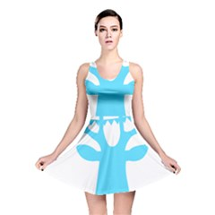Party Deer With Bunting Reversible Skater Dresses