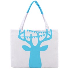 Party Deer With Bunting Tiny Tote Bags
