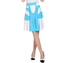 Party Deer With Bunting A-Line Skirts