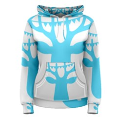 Party Deer With Bunting Women s Pullover Hoodies