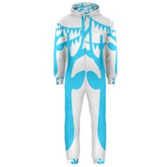 Party Deer With Bunting Hooded Jumpsuit (Men)