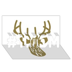 Life Is A Party Buck Deer #1 MOM 3D Greeting Cards (8x4)
