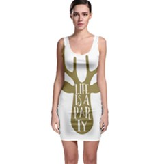 Life Is A Party Buck Deer Bodycon Dresses