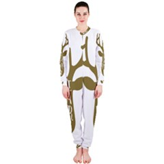 Life Is A Party Buck Deer OnePiece Jumpsuit (Ladies)