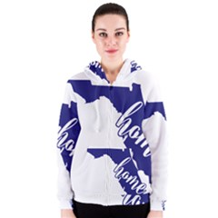Florida Home  Women s Zipper Hoodies