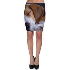 Beagle Sleeping Bodycon Skirts