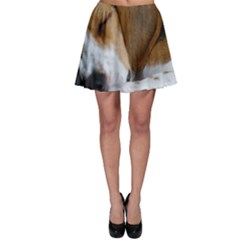 Beagle Sleeping Skater Skirts
