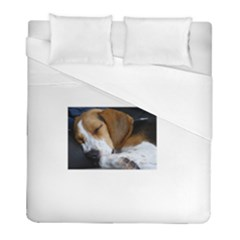 Beagle Sleeping Duvet Cover Single Side (Twin Size)