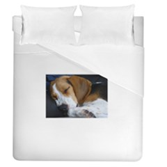 Beagle Sleeping Duvet Cover Single Side (Full/Queen Size)