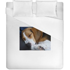 Beagle Sleeping Duvet Cover Single Side (Double Size)