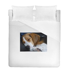 Beagle Sleeping Duvet Cover (Twin Size)
