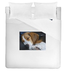 Beagle Sleeping Duvet Cover (Full/Queen Size)