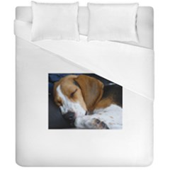 Beagle Sleeping Duvet Cover (Double Size)
