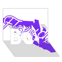 Florida Home State Pride Boy 3d Greeting Card (7x5)
