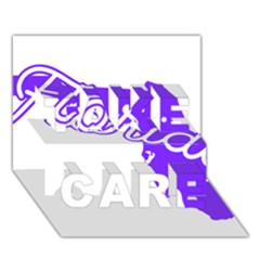 Florida Home State Pride Take Care 3d Greeting Card (7x5)