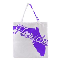 FLorida Home State Pride Grocery Tote Bags