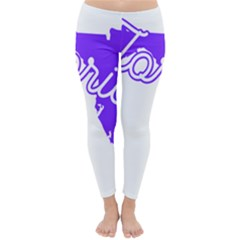 Florida Home State Pride Winter Leggings