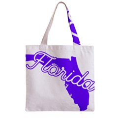 FLorida Home State Pride Zipper Grocery Tote Bags