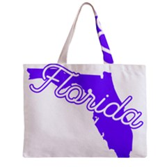 Florida Home State Pride Zipper Tiny Tote Bags