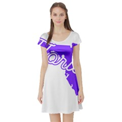 FLorida Home State Pride Short Sleeve Skater Dresses