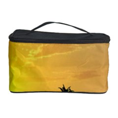 Beautiful Island In The Sunset Cosmetic Storage Cases