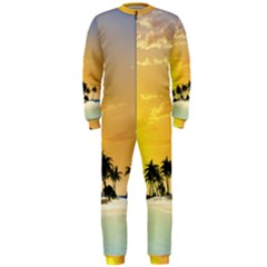Beautiful Island In The Sunset OnePiece Jumpsuit (Men)