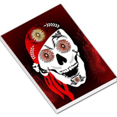 Funny Happy Skull Large Memo Pads