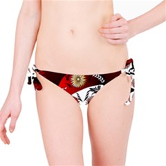 Funny Happy Skull Bikini Bottoms