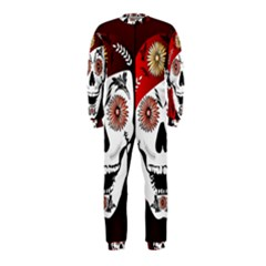 Funny Happy Skull Onepiece Jumpsuit (kids)