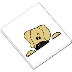 Peeping Fawn Great Dane With Undocked Ears Small Memo Pads