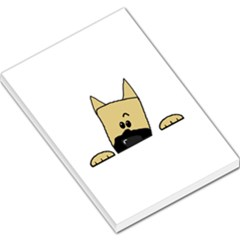 Peeping Fawn Great Dane With Docked Ears Large Memo Pads