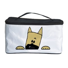 Peeping Fawn Great Dane With Docked Ears Cosmetic Storage Cases