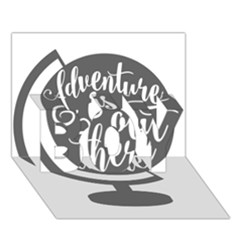 Adventure Is Out There BOY 3D Greeting Card (7x5)