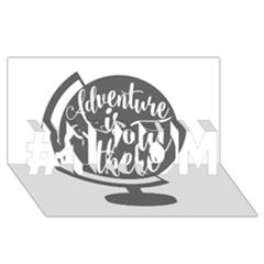 Adventure Is Out There #1 MOM 3D Greeting Cards (8x4)