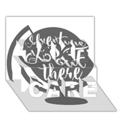 Adventure Is Out There TAKE CARE 3D Greeting Card (7x5)