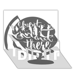 Adventure Is Out There You Did It 3d Greeting Card (7x5)