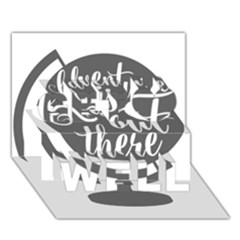 Adventure Is Out There Get Well 3D Greeting Card (7x5)