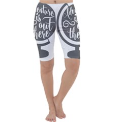 Adventure Is Out There Cropped Leggings