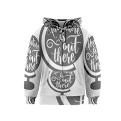 Adventure Is Out There Kids Zipper Hoodies