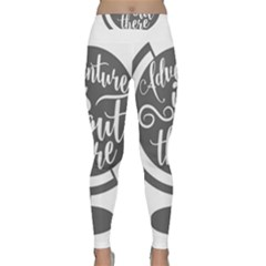 Adventure Is Out There Yoga Leggings
