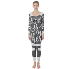 Adventure Is Out There Long Sleeve Catsuit