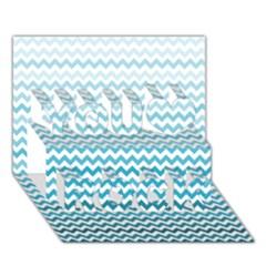 Perfectchevron You Rock 3D Greeting Card (7x5)