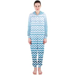 Perfectchevron Hooded Jumpsuit (Ladies)