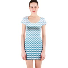 Perfectchevron Short Sleeve Bodycon Dresses