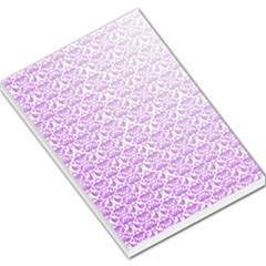 Purple Damask Gradient Large Memo Pads