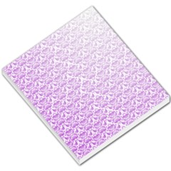 Purple Damask Gradient Small Memo Pads