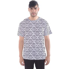 Gray Damask Men s Sport Mesh Tees